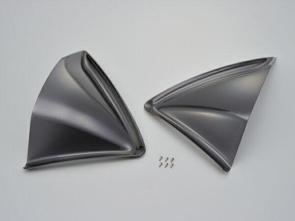 【デイトナ(DAYTONA)】 ホンダ PCX用 サイドバイザー左右セット スモーク HONDA ホンダ PCX125('14〜'16)/PCX150('14〜'16)【スポーティーなエアロフォルムのサイドバイザー左右セット。】
