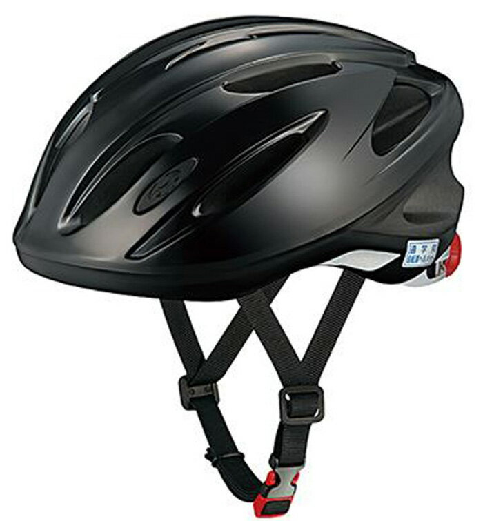 【送料無料】【OGK Kabuto】 通学用ヘルメット SN-11(57〜60cm)ブラック 中学生 テープ無し 【SG安全規格合格】子供用ヘルメット 自転車用キッズヘルメット 女の子用 男の子用  オージーケーカブト