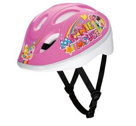 【4523256018620】【送料無料】【アイデス(ides)】 キッズヘルメットS ミニーマウスPP ピンク S (53-57cm) 4-8歳くらい 【ラッピング対応!】