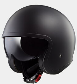 【送料無料】【LS2(エルエスツー)】 国内正規品 SG認定 インナーバイザー付 ジェットヘルメット SPITFIRE(スピリットファイヤ) ソリッドカラータイプ レトロ 【レトロなルックスにモダン機能を装備】