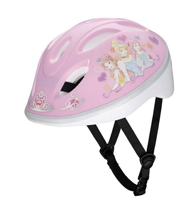 【ides(アイデス)】 キッズヘルメット プリンセスYK ピンク S (頭囲 53cm~57cm) 【人気のディズニープリンセス】