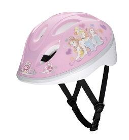 【4523256018637】【ides(アイデス)】 キッズヘルメット プリンセスYK ピンク S (頭囲 53cm~57cm) 【人気のディズニープリンセス】
