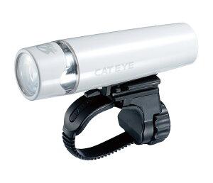 【4990173022953】【送料無料】【CATEYE(キャットアイ)】 HL-EL010 UNO(ウノ) ホワイト 自転車ライト コンパクト&スリムボディのフロントライト JIS規格の配光と電池寿命の基準をクリア スポー