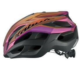 次回入荷予定 未定【4966094600877】OGK Kabuto VOLZZA マットトランスパープル S/M(55-58cm)?ヘルメット オージーケーカブト JCF公認
