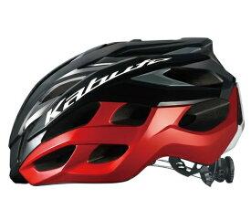 次回入荷予定 未定【4966094600907】OGK Kabuto VOLZZA ブラックレッド L/XL(59-61cm)?ヘルメット オージーケーカブト JCF公認