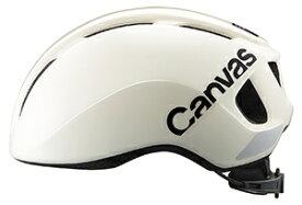 【送料無料】 【4966094600976】OGK Kabuto ヘルメット CANVAS-SPORTS スポーツ オフホワイト M/L(57-59cm)(JCF推奨) CANVAS-SPORTS