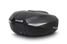 【送料無料】【SHAD】 トップケース SH58X 無塗装ブラック カーボン 最大容量58リットル シャッド【0SSNHSH58X】