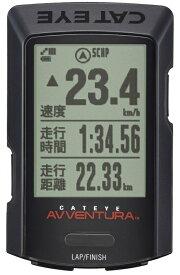 【キャットアイ(CAT EYE)】 【4990173034048】GPSサイクロコンピュータ [CC-GPS200] AVVENTURA 日本語表示対応 バックライト