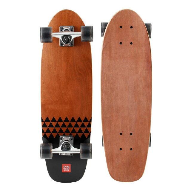 【ダブスタック(DUB STACK)】 クルージング スケートボード 27インチ ブラウン 【DOPLSB627BR】