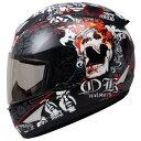 【THH】 フルフェイス ヘルメット [TS-41] GHOST RIDER / ゴーストライダー ピンロック対応【SG規格認定】【THH日本総…