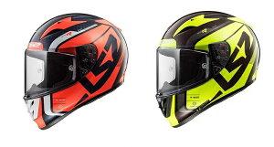 【送料無料】【LS2(エルエスツー)】 SG認証 カーボンフルフェイスヘルメットARROW C EVO グラフィックモデル 日本正規品 S-XL 1196A403【カーボンフルフェイス】
