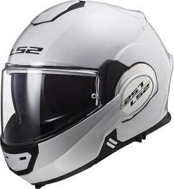 【LS2(エルエスツー)】 【4582200067633】新色 ホワイト SG認証 システムヘルメット VALIANT(バリアント)日本正規品 S-XXL  14080102-6