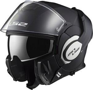 【送料無料】【LS2(エルエスツー)】 SG認証 システムヘルメット VALIANT(バリアント)マットブラック 日本正規品 S-XXL  14089602-6【180度可動する新スタイル】