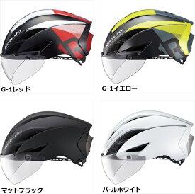【発送予定:未定】【OGK kabuto】自転車 ヘルメット オージーケー カブト AERO-R1 CVTR G-1 エアロ R1CVTR マットブラック S/Mサイズ L/XLサイズ