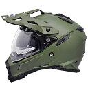 【送料無料】【THH】 フルフェイスヘルメット TX-28 [マットオリーブグリーン] インナーサンバイザー搭載モデル オ…