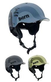 【Bern】 【4573486393325】バーン(日本向けモデル)[神山隆二コラボモデル]WATTS(ワッツ)冬モデル 耳当て付き 全3色 大人用ヘルメット(S-XXXL) WATTS-K-W
