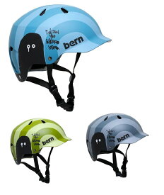 【送料無料】【Bern】 【4573486393141】バーン(日本向けモデル)[神山隆二コラボモデル]WATTS(ワッツ)スタンダードモデル 全3色 大人用ヘルメット(S-XXXL) WATTS-K【国内正規品】