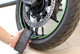 10月中旬入荷予定【KIJIMA(キジマ)】 スマートエアポンプ JP01 空気圧 バイクや自転車の空気補充に 2000mAh 大容量バッテリー搭載