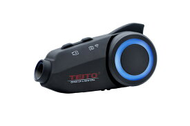 【あす楽】【TEITO】 バイク用カメラ付きインカム TM3 ドライブレコーダー FM 1080P WIFI搭載 ドラレコ 6人通話 ブルートゥース 防水 ヘルメット インターコム 音楽 ツーリング  MAXTO M3