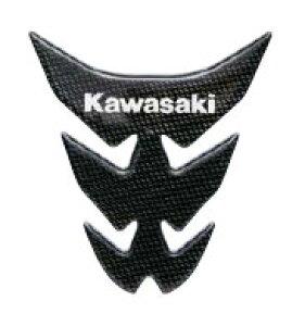 【カワサキ純正】 タンクパッド(カーボン調)[KAWASAKI ロゴ] 3M製 Ninja ZRX1200 DAEG ZRX1200R【J20070037】【KAWASAKI】