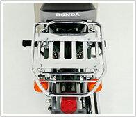【送料無料】 [ホンダ純正] リアオーバーキャリア:大型(クロムメッキ仕上げ)スーパーカブ(スタンダード・デラックス)用08L42-GK4-A00[HONDA]リヤキャリア