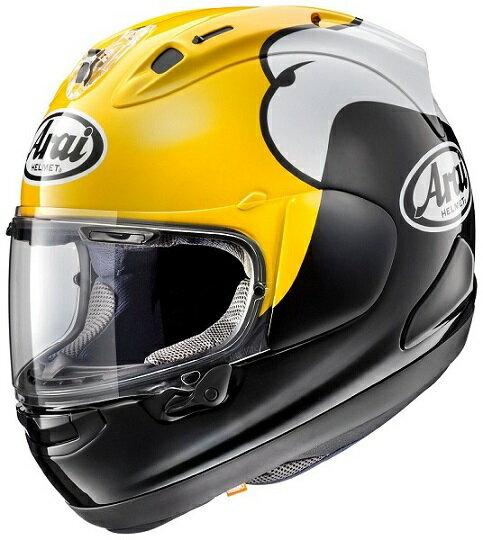 【アライ(ARAI)】 バイクヘルメット フルフェイス RX-7X ロバーツ(ROBERTS) PB-SNC2【ケニーロバーツ選手のレプリカ】