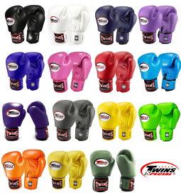 【送料無料】Twins ツインズ ボクシング グローブ サイズ 6 8 10 オンス 左右セット 本革製 プロ 本場タイ産 トレーニング 格闘技