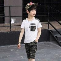 子供服男の子半袖Tシャツ短パン上下セット半端丈120cm130cm140cm150cm160cm170cm
