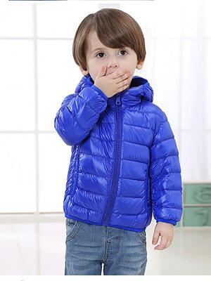 キッズウルトラライトダウンジャケット男の子女の子アウタージャンパーダウン中綿コート