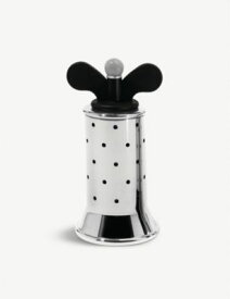 ALESSI ステンレススチール ペッパーミル 13.2cm Stainless steel pepper mill 13.2cm #Black