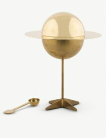 SELETTI セレッティ x ディーゼル コズミック ダイナー ルナー ブラス シュガー ジャー 26cm Seletti x Diesel Cosmic Dinner Lunar brass sugar jar 26cm