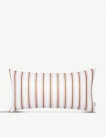 NORMANN エクラ ストライププリント ウォーブン クッション 33cm x 60cm Eclat stripe-print woven cushion 33cm x 60cm