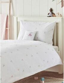 THE LITTLE WHITE COMPANY イージーケア フェアリー ムーン コットン コット ベッド リネン 背ttお Easy-Care Fairy Moon cotton cot bed linen set #MULTI