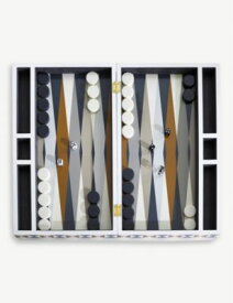 JONATHAN ADLER ボウタイ バックギャモン セット Bowtie backgammon set