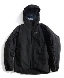 《Tilak・メンズ》ティラックSVALBARD(スバルバード)ブラック色(XS/S/M/Lサイズ)【送料無料】【後払決済不可】※GORE-TEXを採用した防水ダウンジャケット。
