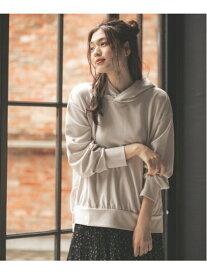 [Rakuten Fashion](W)ハンサムビジンライトPK GLOBAL WORK グローバルワーク カットソー パーカー グレー ホワイト グリーン パープル