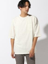 [Rakuten Fashion](M)アセジミケイゲンT5S GLOBAL WORK グローバルワーク カットソー Tシャツ ホワイト グリーン グレー ブラウン