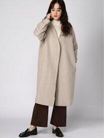 [Rakuten Fashion](W)エアカルウールボリュームCT GLOBAL WORK グローバルワーク コート/ジャケット コート/ジャケットその他 ベージュ ピンク ブラック ブルー【送料無料】