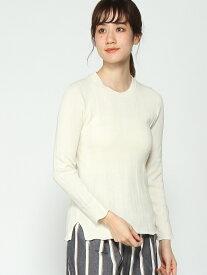 [Rakuten Fashion]【SALE/51%OFF】(W)ビンテージフウリブPO GLOBAL WORK グローバルワーク ニット 長袖ニット ホワイト グレー レッド【RBA_E】