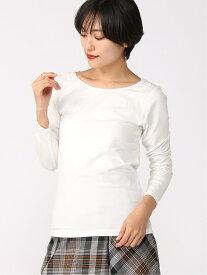 [Rakuten Fashion](W)BEAUTEE2WAYレースLS GLOBAL WORK グローバルワーク カットソー Tシャツ ホワイト ブラック ブラウン レッド