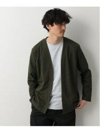 [Rakuten Fashion](M)DRYワッフルWフェイスカーデ GLOBAL WORK グローバルワーク カットソー カットソーその他 カーキ グレー ネイビー ブラウン【送料無料】