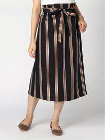 [Rakuten Fashion]セミフレアロングSK+D GLOBAL WORK グローバルワーク スカート フレアスカート ネイビー ベージュ【送料無料】