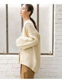 [Rakuten Fashion](W)アラエル-ニュアンスCD GLOBAL WORK グローバルワーク ニット カーディガン ホワイト グレー ベージュ レッド ブラック ブラウン【送料無料】