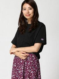 [Rakuten Fashion]【SALE/36%OFF】(W)チャンピオンTSS GLOBAL WORK グローバルワーク カットソー Tシャツ ブラック グレー ホワイト【RBA_E】