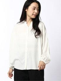 [Rakuten Fashion](W)サラサラリラックスブラウス GLOBAL WORK グローバルワーク シャツ/ブラウス 長袖シャツ ホワイト ネイビー パープル