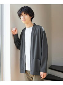 (M)キナガスドライカーデ GLOBAL WORK グローバルワーク ニット カーディガン グレー グリーン ブラック[Rakuten Fashion]
