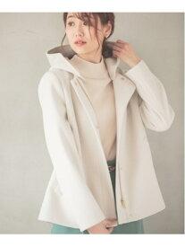 [Rakuten Fashion](W)カロヤカSTR2WAYショートC GLOBAL WORK グローバルワーク コート/ジャケット ショートコート ホワイト レッド ブラック ベージュ グレー パープル【送料無料】
