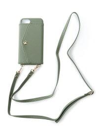 [Rakuten Fashion](W)IPHONEケースショルダー【iPhone6/6s/7/8対応】 GLOBAL WORK グローバルワーク ファッショングッズ 携帯ケース/アクセサリー カーキ グレー ピンク ブラック