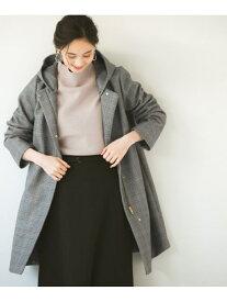 [Rakuten Fashion](W)カロヤカSTR2WAYコートCH GLOBAL WORK グローバルワーク コート/ジャケット チェスターコート グレー ベージュ【送料無料】