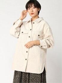 [Rakuten Fashion](W)コーデュロイCPOジャケット GLOBAL WORK グローバルワーク コート/ジャケット コート/ジャケットその他 ホワイト グリーン ブラウン【送料無料】